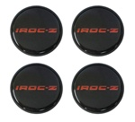 1985 - 1987 IROC-Z Wheel Center Cap Set, Red