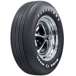 Firestone Wide Oval RADIAL with Raise White Letters, FR70-14