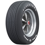 Firestone Wide Oval RADIAL with Raise White Letters, FR60-15