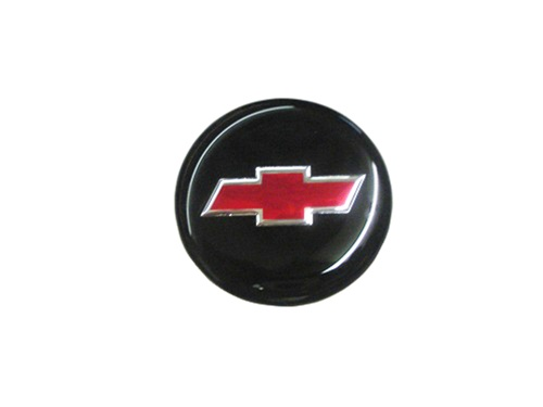 Center Cap Decal Decal Black With Red Bowtie 1 3 4