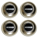 1979 - 1981 5 Spoke Wheel Center CapS Z28, Set of 4