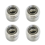 1978 - 1979 Camaro Z28 Finned Aluminum Turbine Wheel Center Cap Set