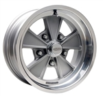 1967 - 2002 Camaro Cragar Eliminator with Gray Center Direct Drill Mag Wheel 17 x 8