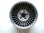 1978 - 1981 Camaro Turbine Aluminum Finned Wheel, Original GM Used PAIR