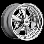 Classic Cragar S/S Chrome Plated Wheel 15 x 7 Uni-Lug