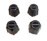1982 - 1992 Camaro 5 Spoke Mag Wheel Center Caps Set, Black