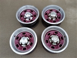 1970 - 1981 Chevy Camaro 6 Hole Rally Wheel Kit, Original GM Used