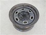 1970 - 1981 Chevy Rally Wheel, 6 Hole 14 X 7, GM Used
