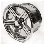 1988 - 1990 Camaro 17 x 9 IROC-Z Chrome Wheels, Set of 4