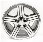 1988 - 1990 Camaro 17 x 9 IROC-Z Factory Gray Wheels, Set of 4