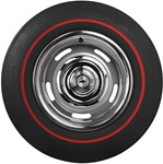 E70-14 Firestone Wide Oval Red Line Tire