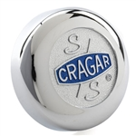 Cragar Chrome S/S  Vintage Replacement Center Cap