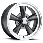 VISION 141 LEGEND 5 Spoke Wheel Rim Gunmetal with Machine Lip, 15X7