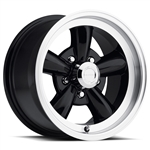 VISION 141 LEGEND 5 Spoke Wheel Rim Gloss Black with Machine Lip, 15X7