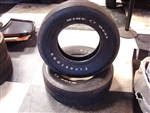 Firestone Wide Oval H70-15 Tires, Pair Original Used