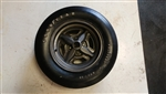 Goodyear Polyglas Custom Wide Tread A70 X 13 Vega GT Rallye Wheel and Tire, Used Vintage Original