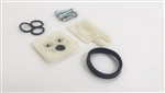 1967 - 1969 New Windshield Washer Pump Repair Kit w/ Correct White Head