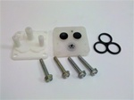 1970 - 1981 New Windshield Washer Pump Repair Kit w/ Correct White Head