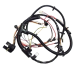 1967 Engine Wiring Harness, 6 Cylinder with Warning Lights