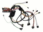 1972 Under Dash Main Wiring Harness, All excet A/T and console