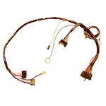 1972 Camaro Dash Gauge Cluster Wiring Harness for Warning Lights and Seat Belt Warning