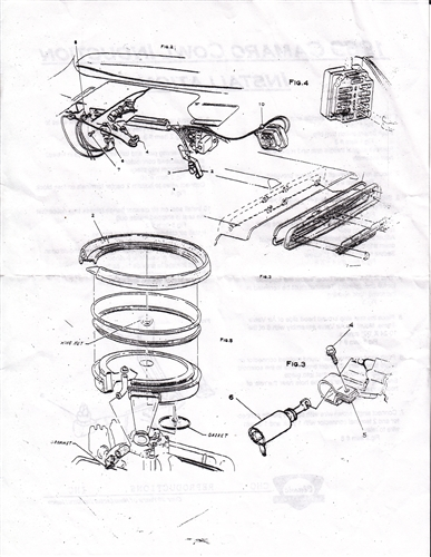 1969 Camaro Air Conditioning Wiring Diagram