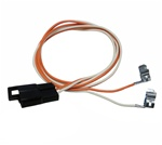 1968 Camaro Console Wiring Harness, Manual Transmission without Factory Gauges