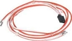 1967 Sail Panel Dome Light Wiring Harness, Deluxe Interior