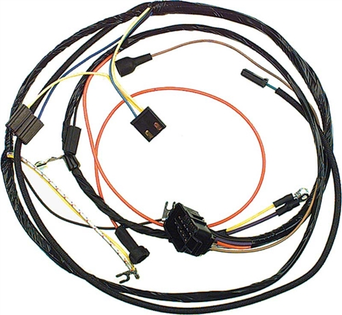 1967 Camaro Small Block Engine Wiring Harness For Models With