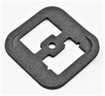 1968 - 1969 Chevy Camaro Electrical Bulkhead Connector at Firewall Seal Gasket