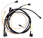 1967 Camaro Small Block Engine Wiring Harness with Warning Lights