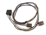 1967 - 1969 Speaker Wiring Harness, Kick Panel Speakers