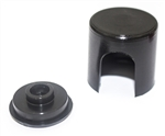 1967 - 1975 Alternator Cap and Retainer Set, Black