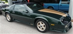 1992 Camaro 25th Anniversary V8 Rally Sport Polo Green and Gold, 5-Speed