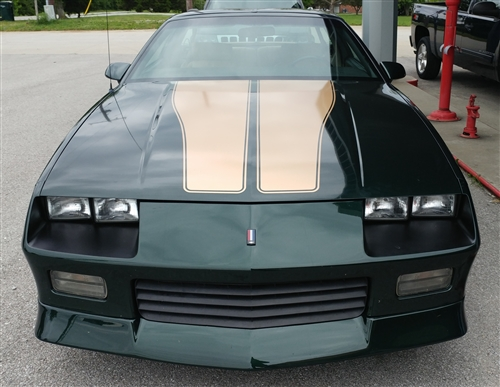 1992 camaro 25th anniversary v8 rally sport polo green and. Black Bedroom Furniture Sets. Home Design Ideas
