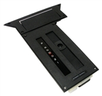 1984 - 1989 Camaro Console Shift Plate Assembly for Automatic, Correct White Lettering: Includes Ash Tray Lid, Indicator Lens, and Slider