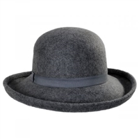 Jeanne Simmons -  Wool Roller Hat