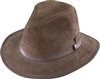 Henschel- Light Weight Suede Leather Safari Fedora