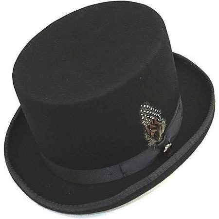 235619b2279 Bruno Capelo - Wool Felt Top Hat