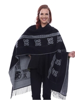 Parsley & Sage French Cape (Ruana)