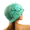 Flapper Sinamay Bucket Hat