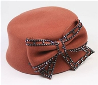 Something Special - Bow Pillbox Hat
