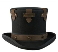 Cov-ver - Victorian Steampunk Top Hat