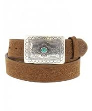 Tony Lama - Brown Navajo Spirit Belt
