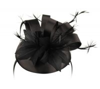 Angela & William - Satin Fascinator