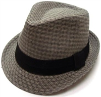 JFH- Stripy Box Fedora