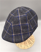 Epoch Plaid Wool Blend Duckbill Cap