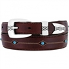 Onyx by Brighton - Cody Turquoise Taper Belt