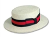 Scala - Straw Boater Hat