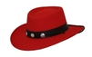 Parati Hats- Red Gambler